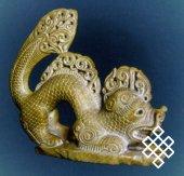 Работа Монгуша Черзи. Из фондов Национального музея им. Алдан Маадыр РТ