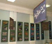 Выставка работ знаменитых художников Тувы