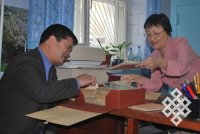 Тувинский центр монголоведения посетил коллега из Монголии