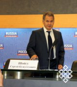 Сергей Шойгу: «Волонтеров будем учить тувинскому языку»