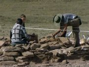 В Туве обнаружили богатейшее захоронение скифского периода