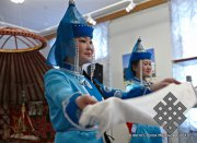 В Мытищах открылась выставка «Традиционная культура и быт тувинцев»
