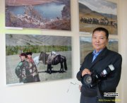 В Центре тувинской культуры открылась фотовыставка Василия Балчый-оола