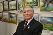 В Национальном музее Тувы завершается выставка работ Дондука Дойбухаа