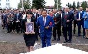В Туве впервые отметили День памяти тувинских добровольцев