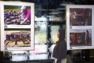 """В cтолице Тувы открылась фотовыставка РГО """"Археолого-географическая экспедиция «Кызыл-Курагино»: тайны и сокровища скифов»"""
