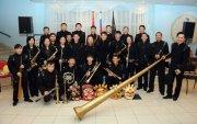 Новая концертная программа Духового оркестра Тувы