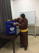Тувинский филиал «Почты России» подготовил фестивальный почтовый штемпель